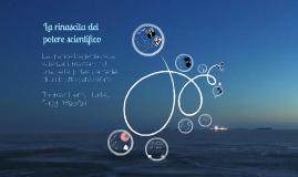 La rinascita  del potere scientifico