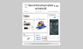Propuesta de interfaz gráfica para la aplicación móvil de no