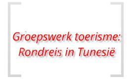 Mooie Tunesië Rondreis