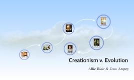 Creationism v. Evolution