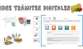 IDSE TRÁMITES DIGITALES