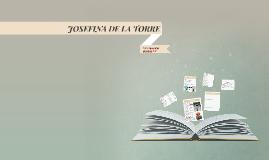 Copy of JOSEFINA DE LA TORRE