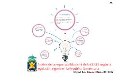 Análisis de la responsabilidad civil de la CDEEE según la le