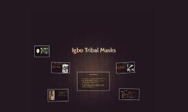 Igbo Tribal Masks