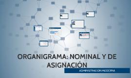 ORGANIGRAMA NOMINAL