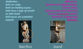 Bacchus vs. David