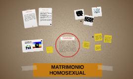 Matrimonio Homosexual - A favor