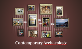 Contemporary Archaeology
