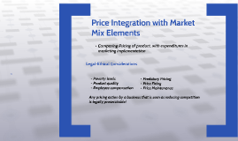 Chapter 7: Pricing