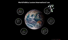 World Politics Lecture 16 International Law