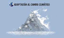 adaptacion al cambio climatico
