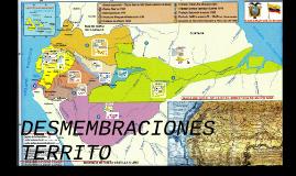 Copy of DESMEMBRACIONES TERRITORIALES DEL ECUADOR