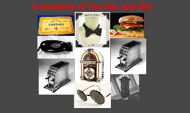 Inventions of the 20s