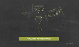 Preschool Parent Preview