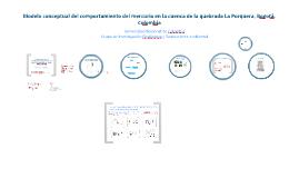 Modelo conceptual del comportamiento del mercurio en la cuenca de la quebrada La Porquera, Bogotá. Colombia (Para la CAR)