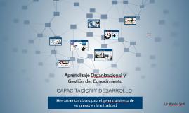 Copy of Gestión del Conocimiento y Aprendizaje Organizacional