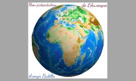 Mon presentation de L'Auvergne