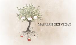MASALAH GIZI VEGAN