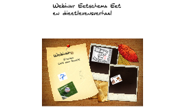 Eet- en dieetlevensverhaal / eetschema LoG E-cursus