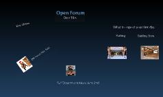 Open forum #2