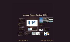 Avrupa Yatırım Bankası (EIB)