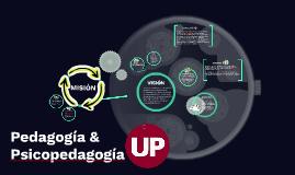 Pedagogía & Psicopedagogía UP