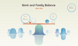 Work and Family Balance