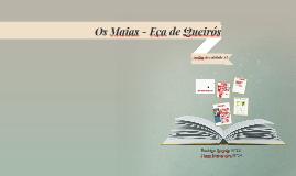 Os Maias - Capítulo XI
