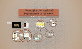 Soil Degradation and Desertification