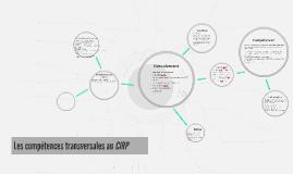 Les compétences transversales au CIRP