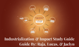 Industrialization & Impact Study Guide
