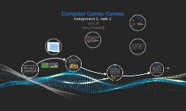 Computer Games Genres