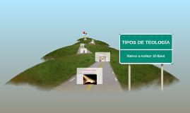TIPOS DE TEOLOGÍA