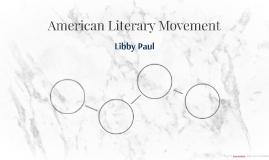 American Literary Movement
