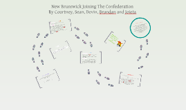 New Brunswick Joining The Confederation