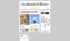 La educación de México