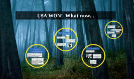USA WON!  What now...