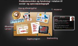Profesionsviden og forskning