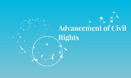 Advancement of Civil Rights
