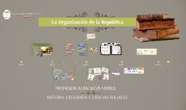 La organización de la República chilena