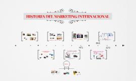 historia del mkt internacional