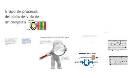 Grupo de procesos del ciclo de vida de un proyecto