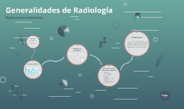 Generalidades de Radiología
