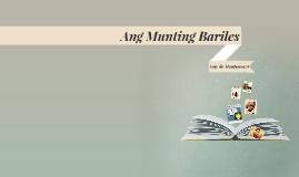 Copy of Ang Munting Bariles