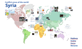 Copy of Conflict areas of the world