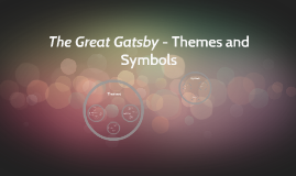 The Great Gatsby - Themes and Symbols