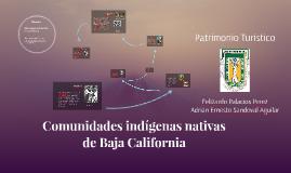 Comunidades Indigenas Nativas de Baja California