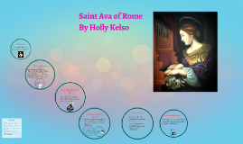 What is saint ava the patron saint of
