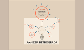 AMNESIA RETRÓGRADA
