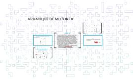 Arranque motor DC